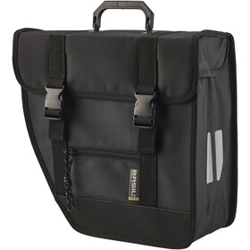 Basil Tour Left Single Pannier Bag 17l, black